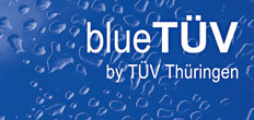 blueTUV by TUV Thuringen LOGO